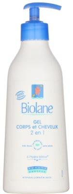 Biolane Baby Wash šampón a umývací gél 2 v 1