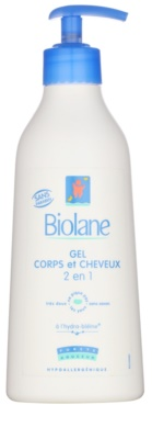 Biolane Baby Wash Sampon és lemosó 2 az 1-ben