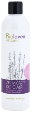 Biolaven Body Care relaxační sprchový gel s esenciálními oleji