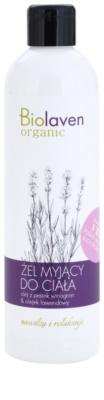 Biolaven Body Care relaxačný sprchový gél s esenciálnymi olejmi