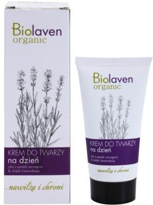 Biolaven Face Care crema de día protectora  con lavanda 1
