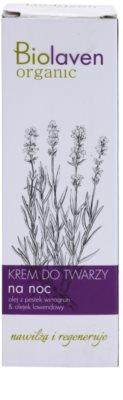Biolaven Face Care erneuernde Nachtcreme mit Lavendel 2