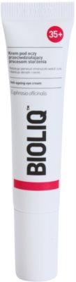 Bioliq 35+ nega za predel okoli oči proti oteklinam in temnim kolobarjem