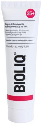Bioliq 35+ creme de noite regenerador  antirrugas