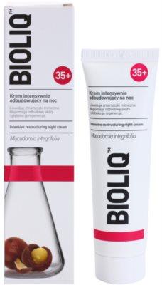 Bioliq 35+ crema regeneradora de noche antiarrugas 1