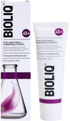 Bioliq 45+ dnevna krema za preoblikovanje obraza za intenzivno obnovitev in učvrstitev kože 1