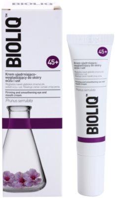 Bioliq 45+ zpevňující krém na hluboké vrásky kolem očí a rtů 1