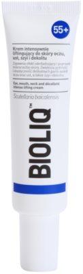 Bioliq 55+ intenzív liftinges krém a szem, száj, nyak és dekoltázs gyengéd bőrére