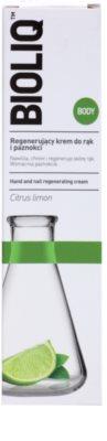 Bioliq Body regenerierende Creme für Hände und Fingernägel 2