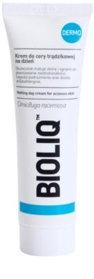Bioliq Dermo crema antibacteriana para pieles acnéicas