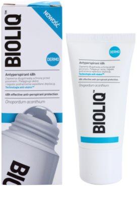 Bioliq Dermo antitranspirante roll-on para pieles sensibles y depiladas 1