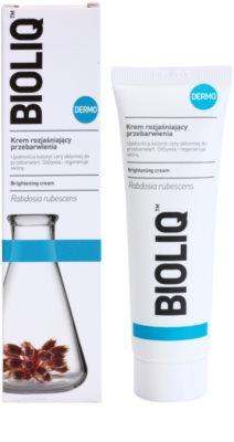Bioliq Dermo crema iluminadora para unificar el tono de la piel 1