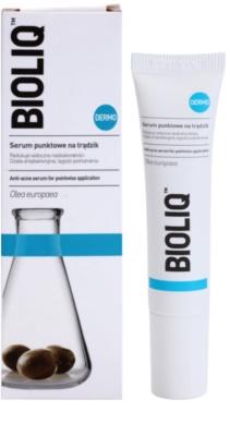 Bioliq Dermo sérum antibacteriano para pele acneica 1