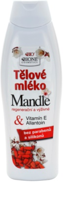 Bione Cosmetics Almonds hranilno mleko za telo z mandljevim oljem