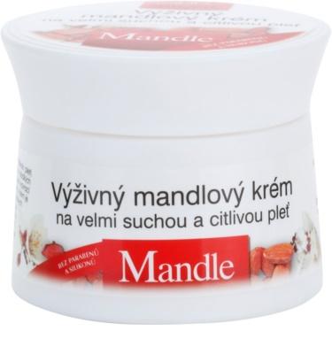 Bione Cosmetics Almonds crema nutritiva  para pieles muy secas y sensibles