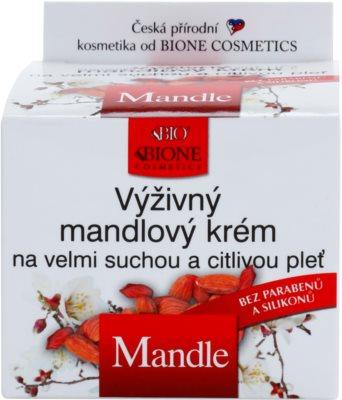 Bione Cosmetics Almonds crema nutritiva  para pieles muy secas y sensibles 2
