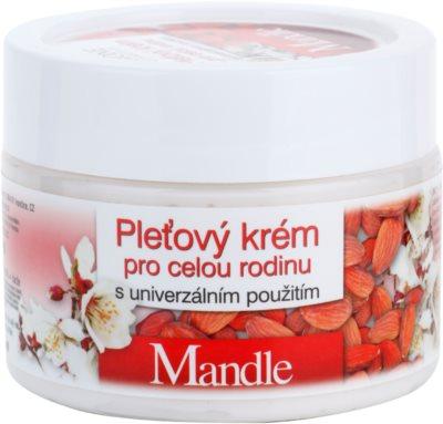 Bione Cosmetics Almonds крем для обличчя для всієї родини