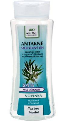 Bione Cosmetics Antakne szalicilsav alkohol zsíros és problémás bőrre