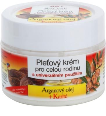 Bione Cosmetics Argan Oil + Karité pleťový krém pro celou rodinu