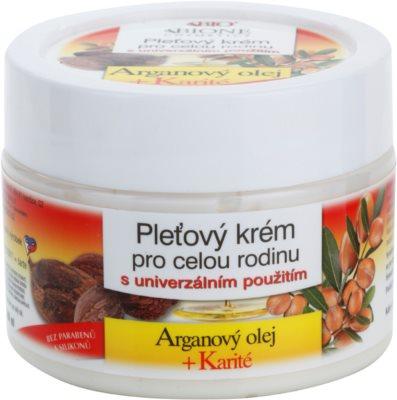 Bione Cosmetics Argan Oil + Karité крем за лице за цялото семейство