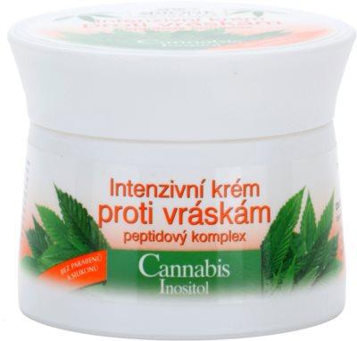 Bione Cosmetics Cannabis crema intensiva antiarrugas