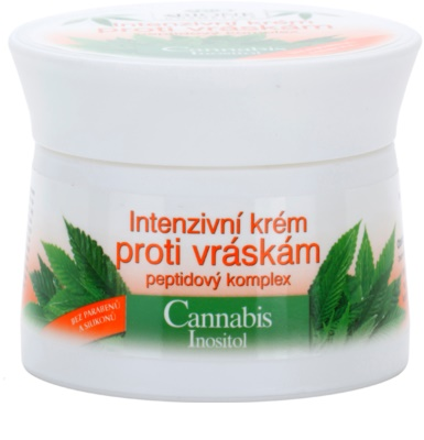 Bione Cosmetics Cannabis интензивен крем против бръчки