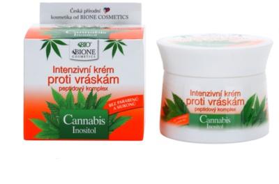 Bione Cosmetics Cannabis creme intensivo  antirrugas 1