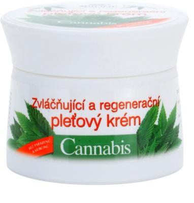 Bione Cosmetics Cannabis відновлюючий крем для шкіри обличчя