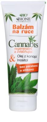 Bione Cosmetics Cannabis Balsam regenerator și hidratant pentru mâini