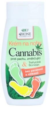 Bione Cosmetics Cannabis crema emoliente para pies