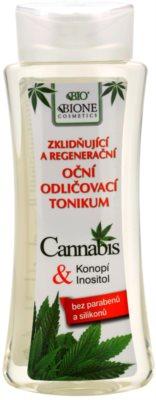 Bione Cosmetics Cannabis pomirjajoči odstranjevalec ličil za oči