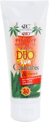 Bione Cosmetics DUO SUN Cannabis lotiune tonica SPF 30
