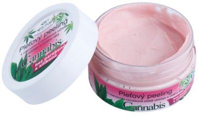 Bione Cosmetics Cannabis descuamarea pielii pentru fata si corp 1