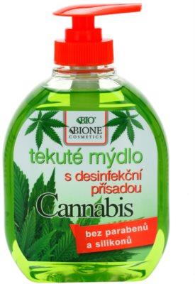 Bione Cosmetics Cannabis antibakterielle Seife für die Hände
