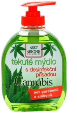 Bione Cosmetics Cannabis sabonete antibacteriano para mãos