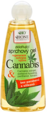 Bione Cosmetics Cannabis gel de dus reconfortant