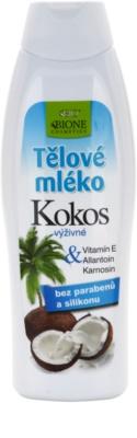 Bione Cosmetics Coconut výživné telové mlieko
