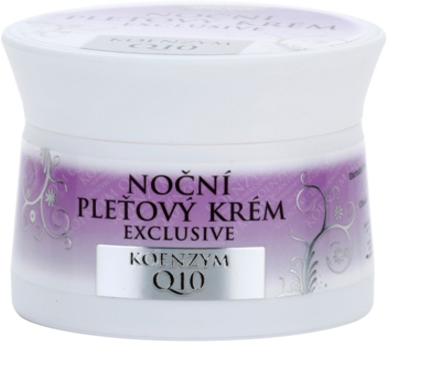 Bione Cosmetics Exclusive Q10 nočna krema za obraz