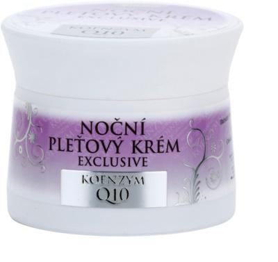 Bione Cosmetics Exclusive Q10 нощен крем за лице