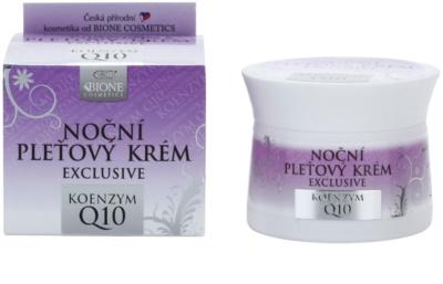 Bione Cosmetics Exclusive Q10 noční pleťový krém 1