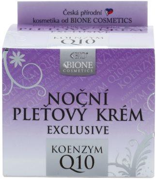 Bione Cosmetics Exclusive Q10 noční pleťový krém 2