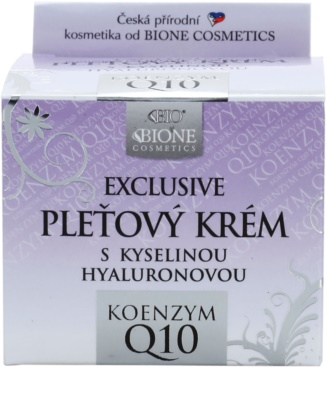 Bione Cosmetics Exclusive Q10 pleťový krém s kyselinou hyalurónovou 2