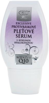 Bione Cosmetics Exclusive Q10 сироватка проти зморшок з гіалуроновою  кислотою