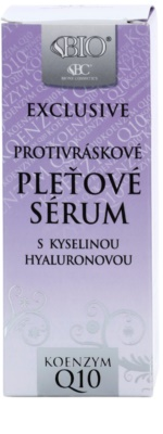 Bione Cosmetics Exclusive Q10 protivráskové sérum s kyselinou hyaluronovou 2