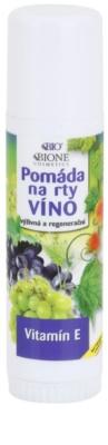 Bione Cosmetics Grapes ajakbalzsam E-vitaminnal