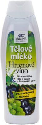Bione Cosmetics Grapes nährende Körpermilch