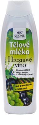 Bione Cosmetics Grapes подхранващ лосион за тяло