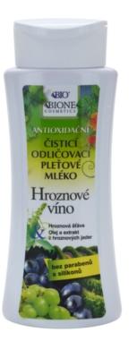 Bione Cosmetics Grapes leite facial de limpeza