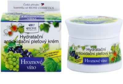Bione Cosmetics Grapes feuchtigkeitsspendende Gesichtscreme ohne Parabene 1