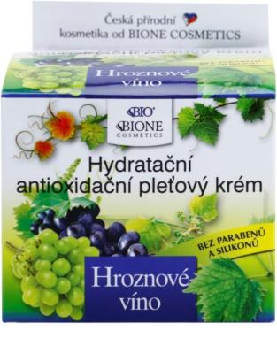 Bione Cosmetics Grapes feuchtigkeitsspendende Gesichtscreme ohne Parabene 3
